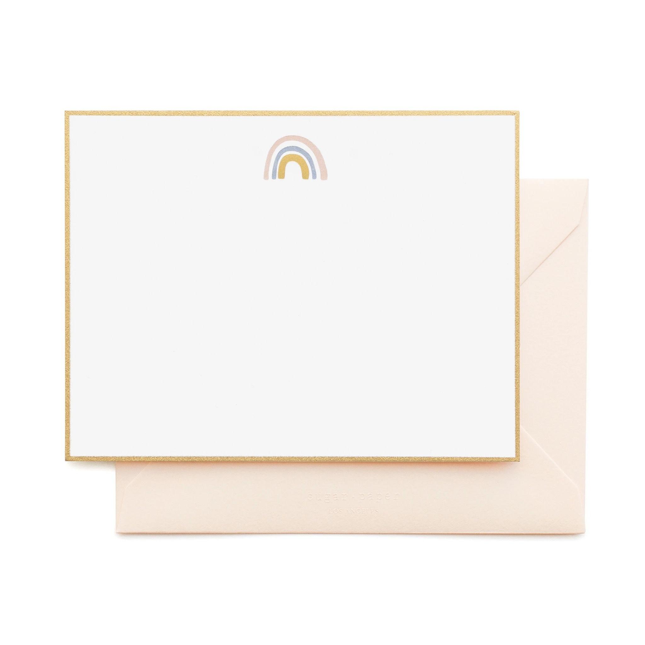 Sugar Paper - SUG Rainbow Note Cards, Set of 6