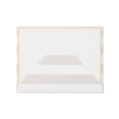 Sugar Paper - SUG Grey Stripe Envelope, Set of 6
