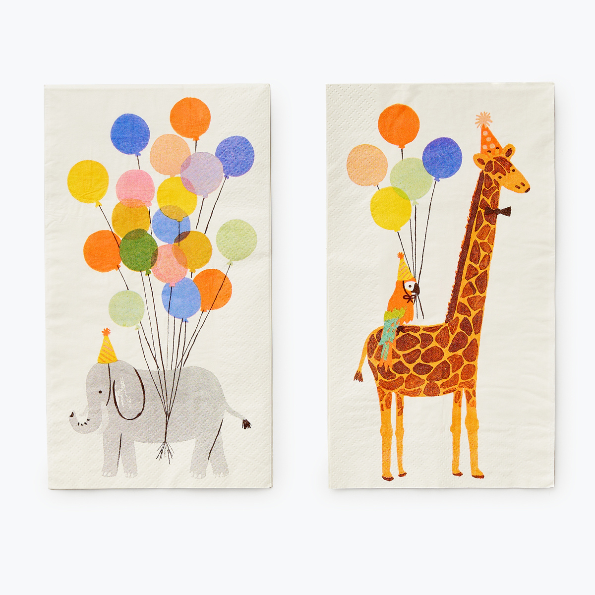 Rifle Paper Co - RP Rifle Paper Co - Party Animals Guest Napkins, set of 20