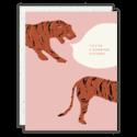 Seedlings - SED Tiger (Roaring Success) Congratulations Card