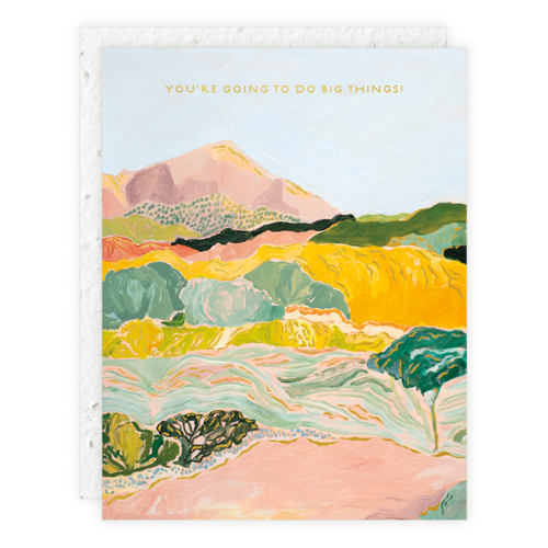 Seedlings - SED Magical Mountains (Great Things) Card
