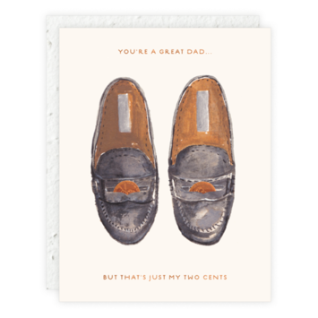Seedlings - SED Penny Loafers Dad Card