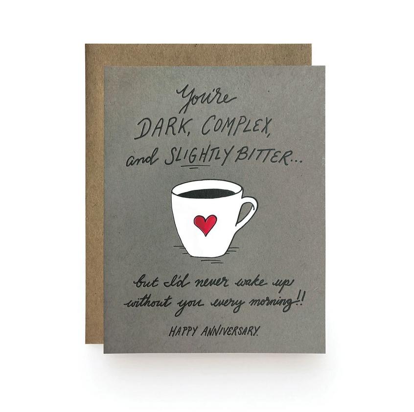 Wild Ink Press - WI Slightly Bitter Anniversary Card