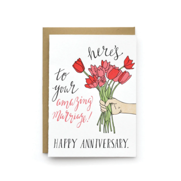 Wild Ink Press - WI Amazing Marriage Anniversary Card