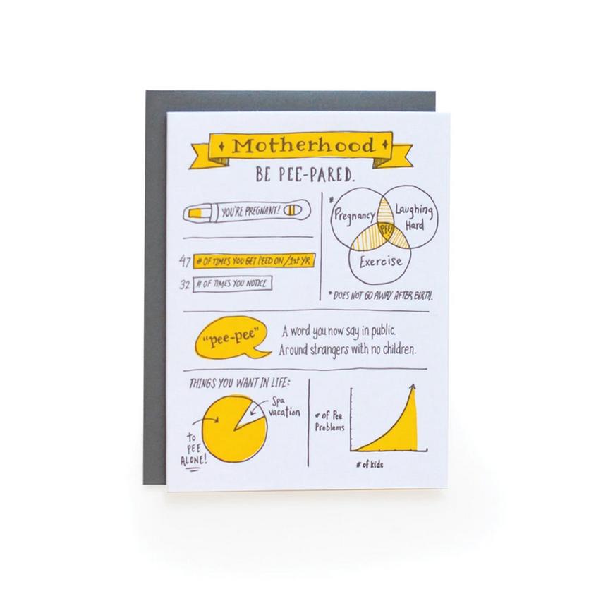 Wild Ink Press - WI Pee-pared Mom Card
