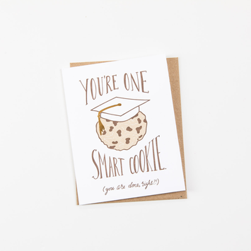Wild Ink Press - WI Smart Cookie Graduation Card
