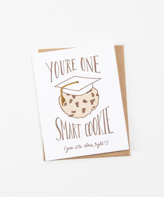 Wild Ink Press - WI Smart Cookie Graduation Card