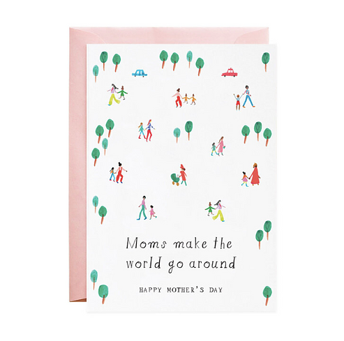 Mr. Boddington's Studio - MB Moms Make the World Go Round Card