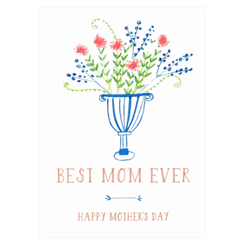 Mr. Boddington's Studio - MB Best Mom Ever Card