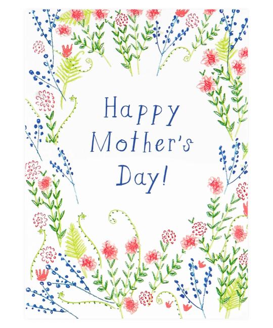 Mr. Boddington's Studio - MB Mother's Day Wildflowers Card