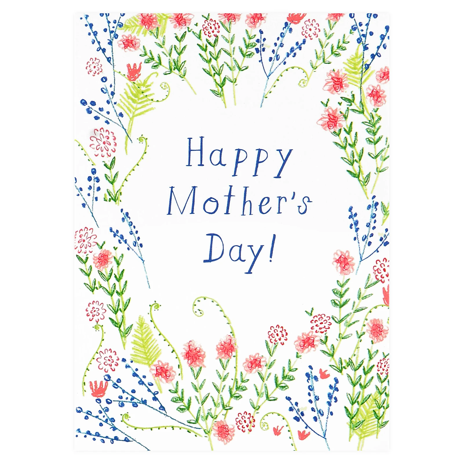 Mr. Boddington's Studio - MB Mother's Day Wildflowers Card