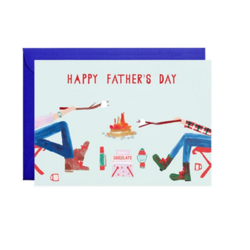 Mr. Boddington's Studio - MB Fire Chat Father's Day Card