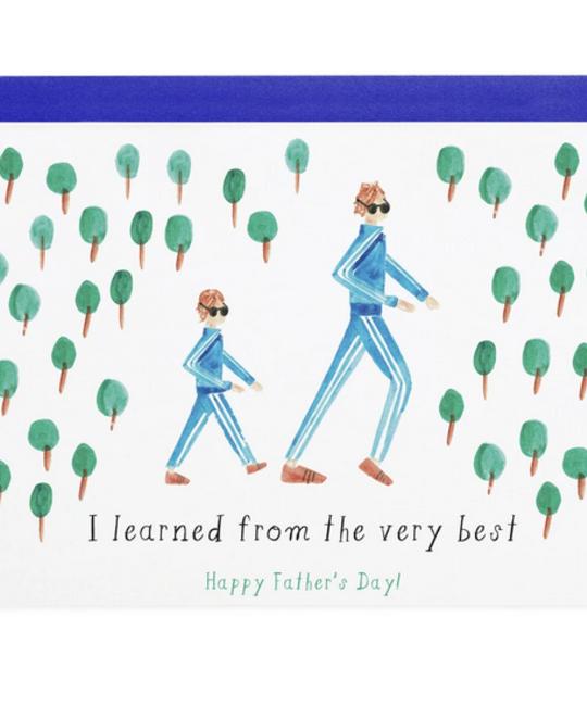 Mr. Boddington's Studio - MB Like Father, Like Son Card