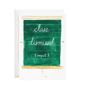 Mr. Boddington's Studio - MB Class Dismissed Congrats Card