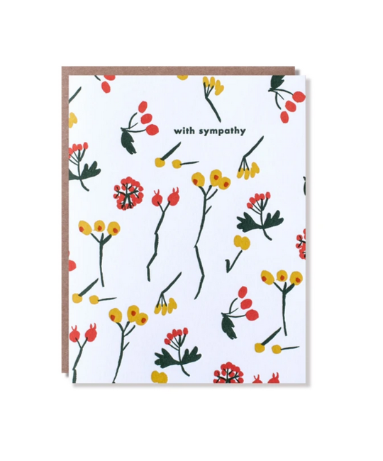 Egg Press - EP Berry Sympathy Card