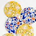 Seedlings - SED Wildflower Floral Coasters, Set of 6