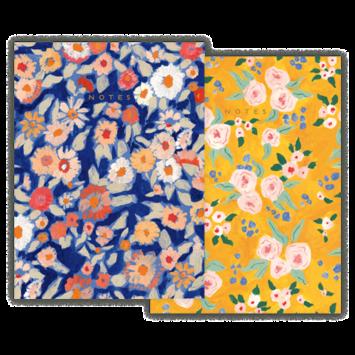 Seedlings - SED Wildflower Floral Notebooks, Set of 2