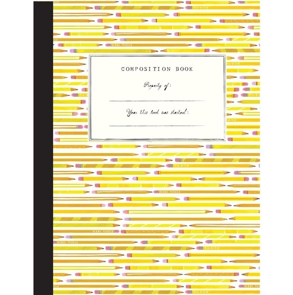 Mr. Boddington's Studio - MB Pencils Composition Notebook