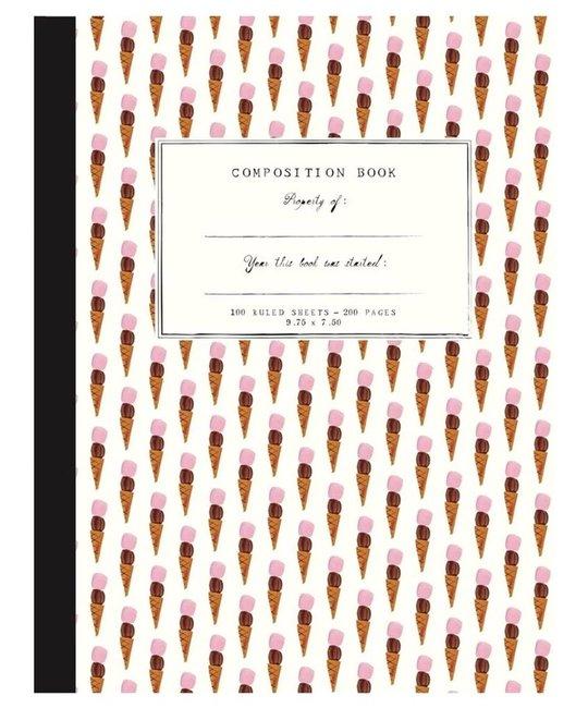 Mr. Boddington's Studio - MB MB NBLI - Ice Cream Composition Notebook