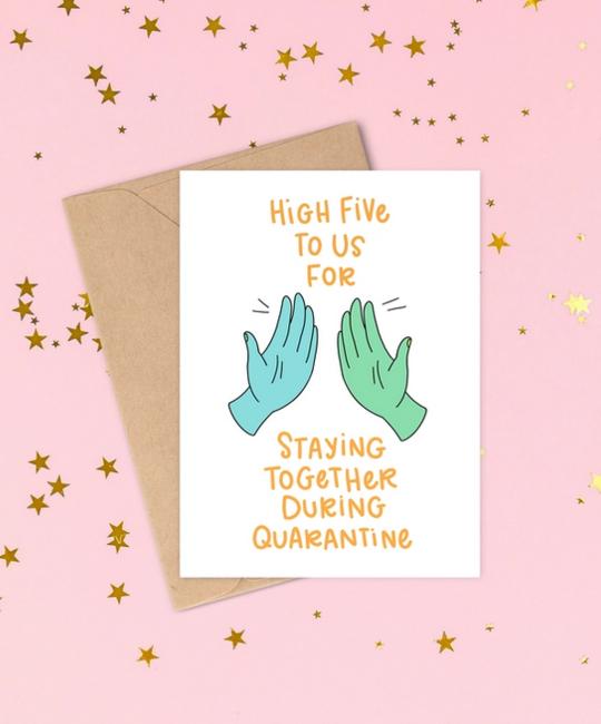 Siyo Boutique - SIB Staying Together Quarantine Card