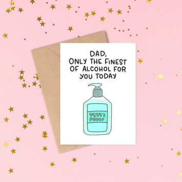 Siyo Boutique - SIB Finest of Alcohol Dad Card