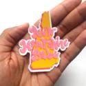Siyo Boutique - SIB New Hampshire Babe State Sticker