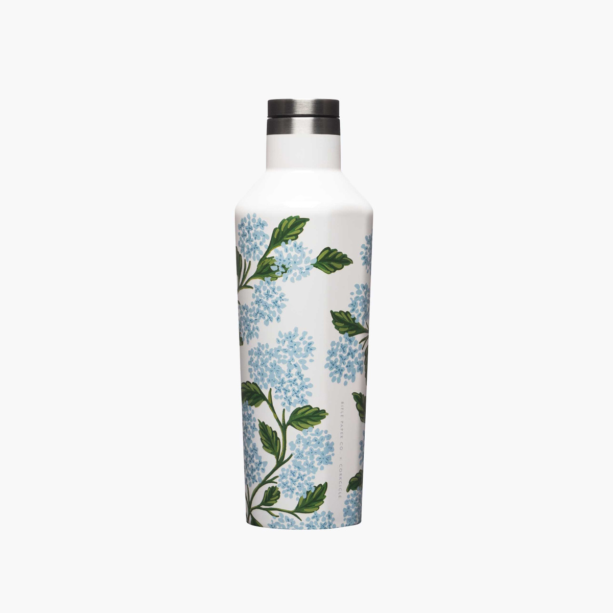 Corkcicle - CO Corkcicle x Rifle Paper - Cream Hydrangea Canteen