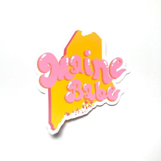 Siyo Boutique - SIB Maine Babe State Sticker