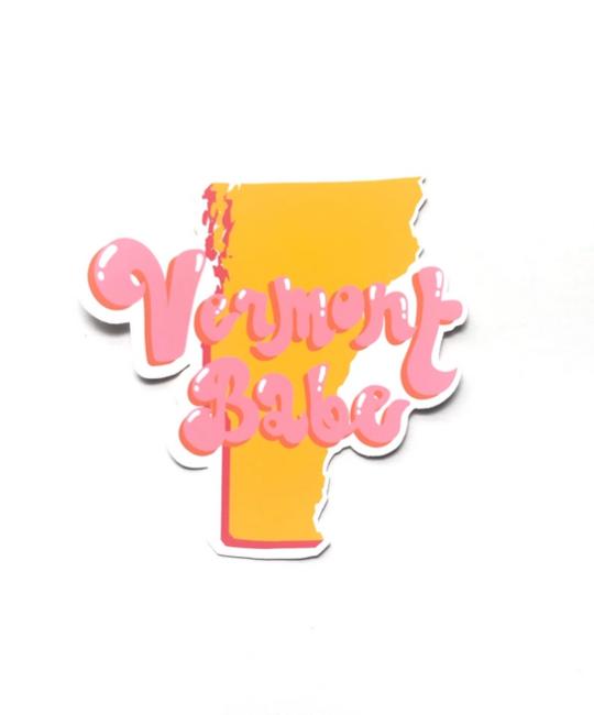 Siyo Boutique - SIB Vermont Babe State Sticker