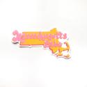 Siyo Boutique - SIB Massachusetts Babe State Sticker