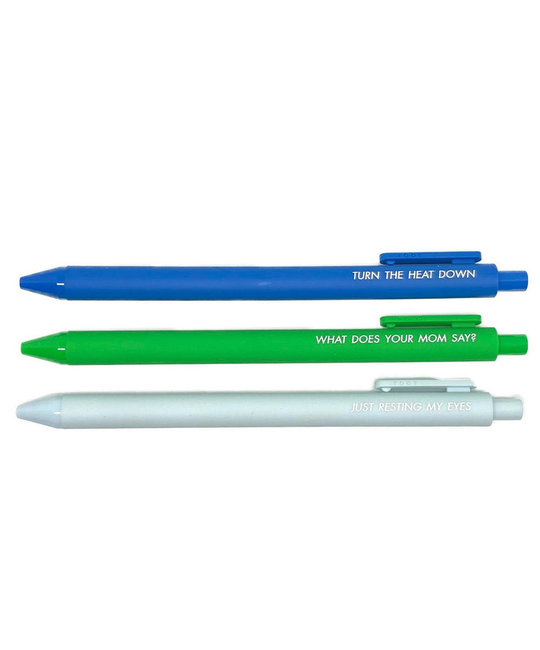 Little Goat Paper Co - LG Pens for Dads Who Need a Break: set of 3