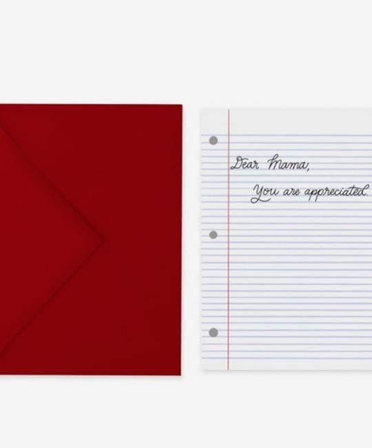 Posterity Paper - POS Dear Mama Card