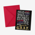 Posterity Paper - POS G.O.A.T. Father's Day Card