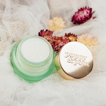 Poppy & Pout All-Natural Sweet Mint Lip Scrub