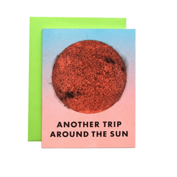 Next Chapter Studio Another Trip Around the Sun Birthday Card