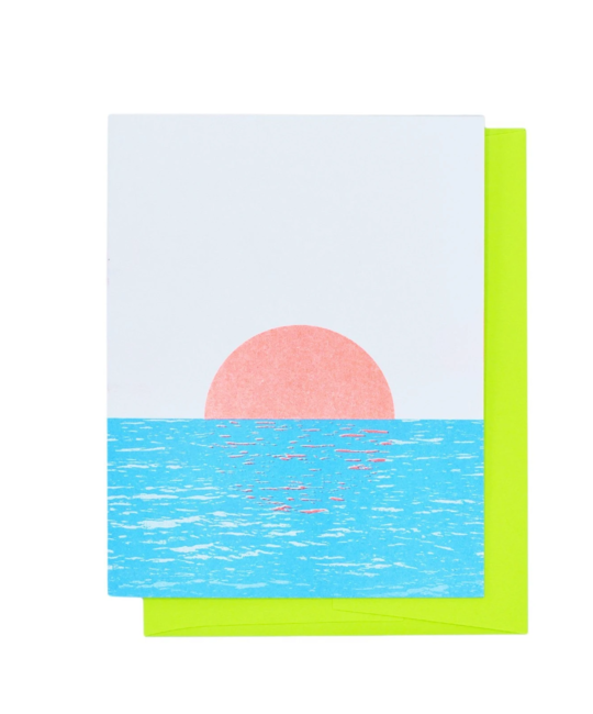 Next Chapter Studio Sunset on the River Card