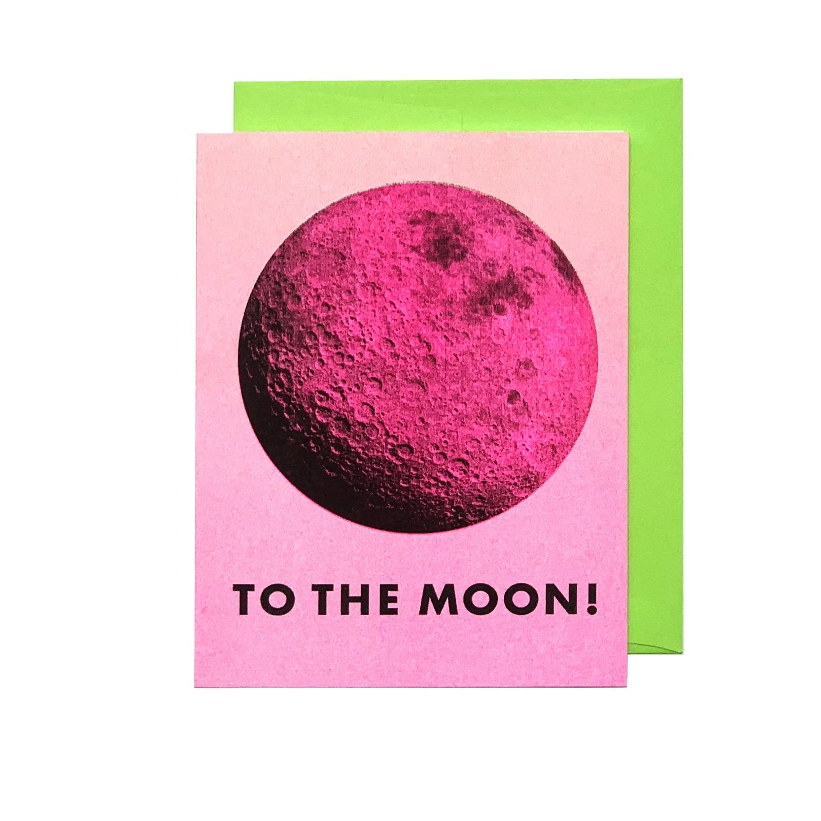 Next Chapter Studio To the Moon! Card