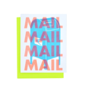 Next Chapter Studio Support the USPS, MAIL MAIL MAIL Card