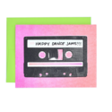 Next Chapter Studio Happy Dance Jams Cassette Card