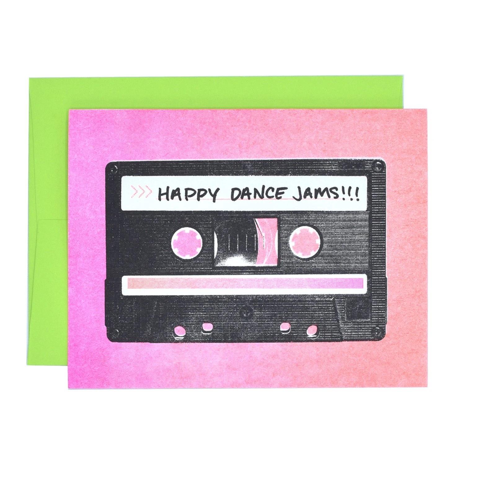 Next Chapter Studio Happy Dance Jams Cassette Card