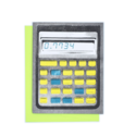 "Next Chapter Studio Calculator ""01134"" HELLO Card"
