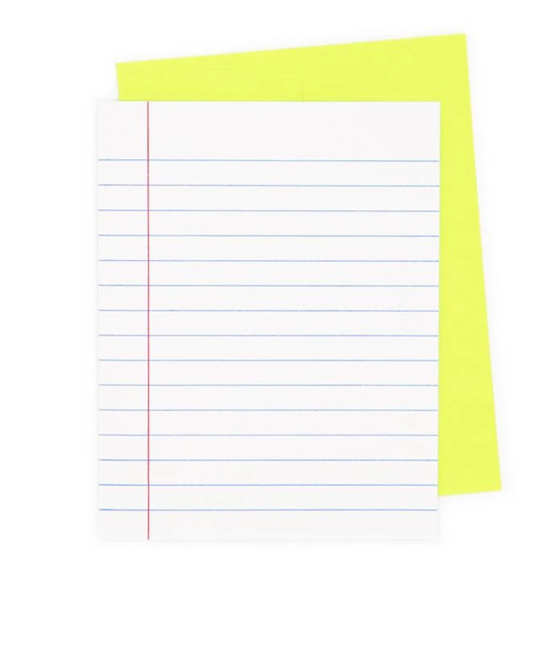 Next Chapter Studio Loose Leaf Paper Note Set