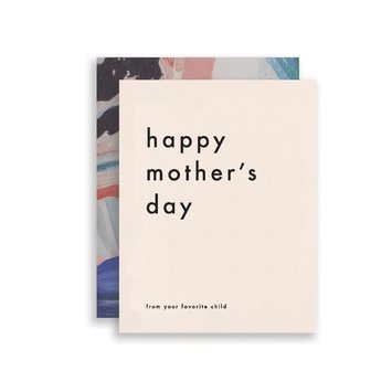 Moglea - MOG Mom's Favorite Mother's Day Card