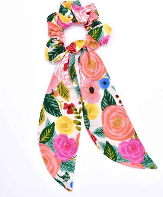 Felicity Howells - FH Rifle Paper Co Blush Juliet Rose Scrunchie