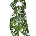 Felicity Howells - FH Rifle Paper Co Green Cornflower Scrunchie