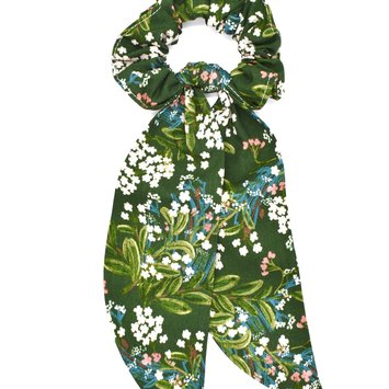 Felicity Howells - FH FH ACHA - Green Cornflower Scrunchie
