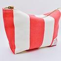 IMMODEST COTTON x Fleabags Sardine Pouch, Red & White Stripe