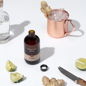 W&P Design - WP Cocktail Syrup Moscow Mule, 8oz