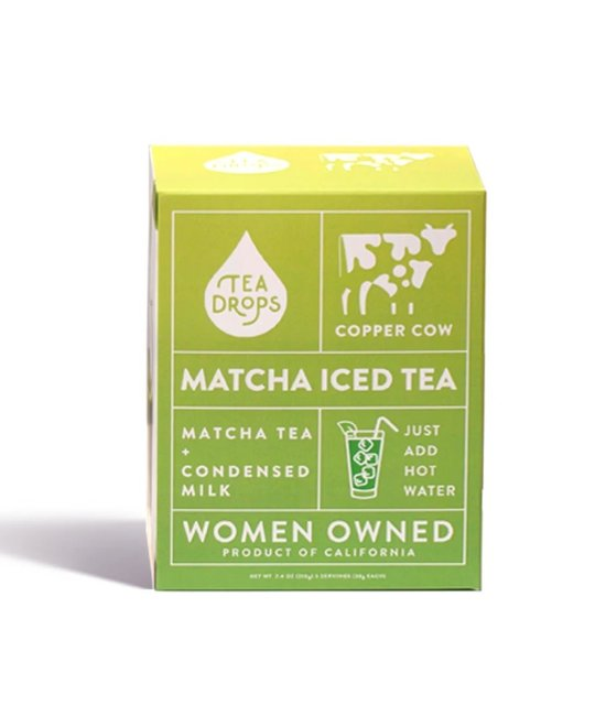 Tea Drops - TD Copper Cow + Tea Drop Matcha Latte Kit