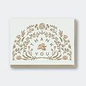 Pike Street Press - PSP Thank You  Card Flowers